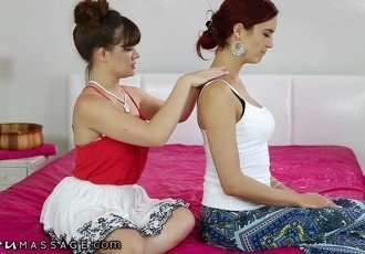 NuruMassage Daughter Demonstrates