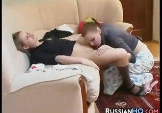 Naughty Russian Lesbians