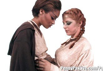 Hottest Lesbian Cosplay With Penny
