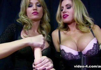 Angela & Randy Moore Jerk Tease -