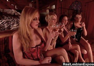 RealLesbianExposed - Lesbian Orgy