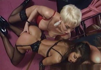 Horny pornstars Nj Debahia and Lana